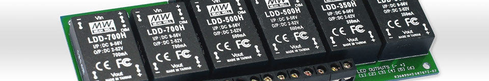 DC DC LED Drivers