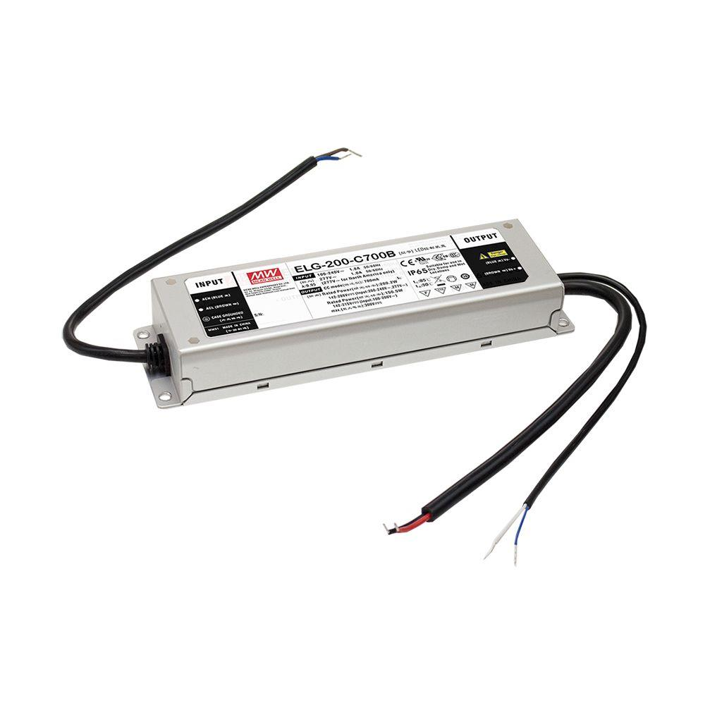 Mean Well ELG-200-C2100AB-3Y AC/DC Box Type - Enclosed 96V 2.1A Single output LED driver