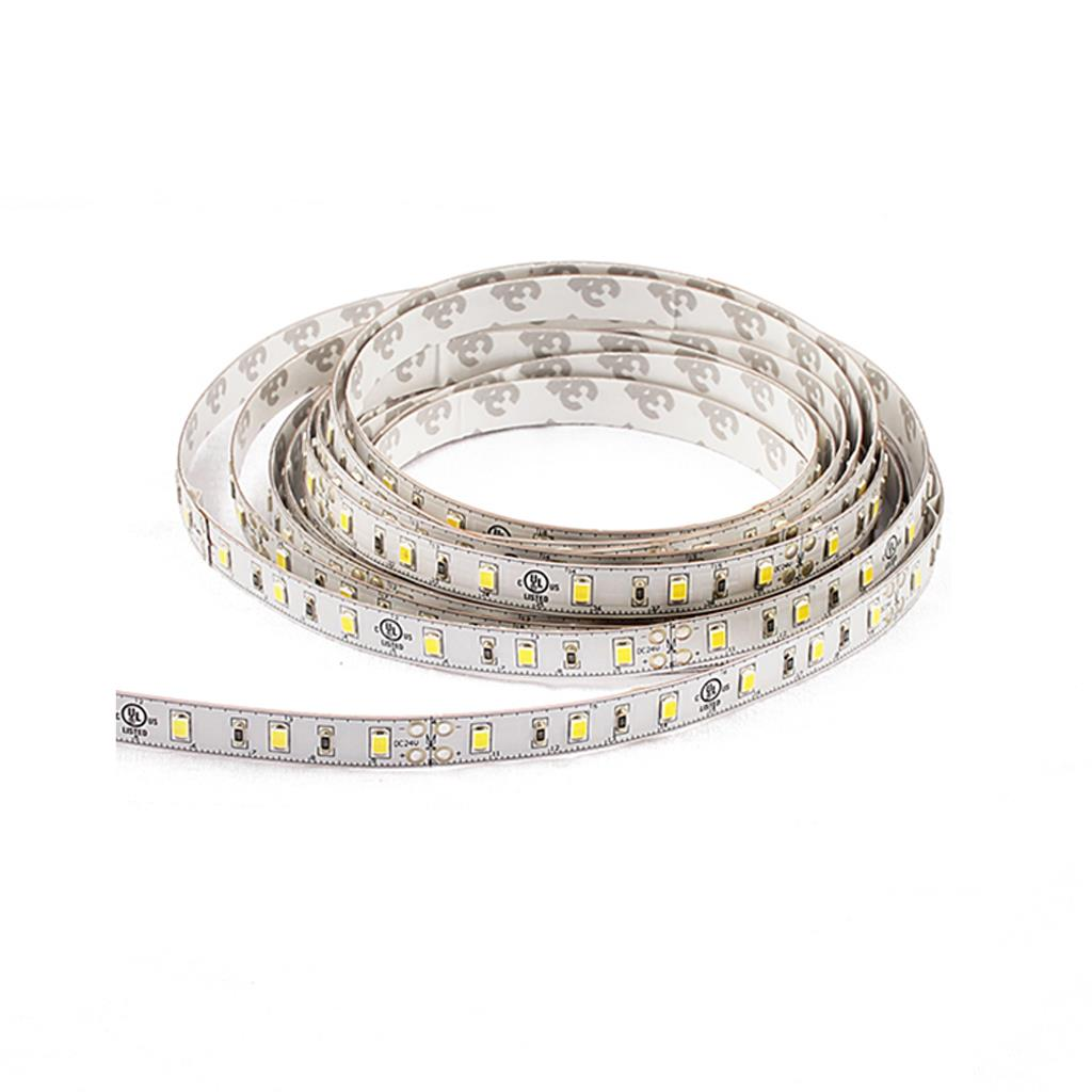 Blueview FN-2835A-60-24-30K-RA90-8mm 2835A Normal LED Strip; Color White; Input 24Vdc; CCT 3000K; CRI 90+ ; 5m per reel; 60 leds per meter; Power per meter 14.4W