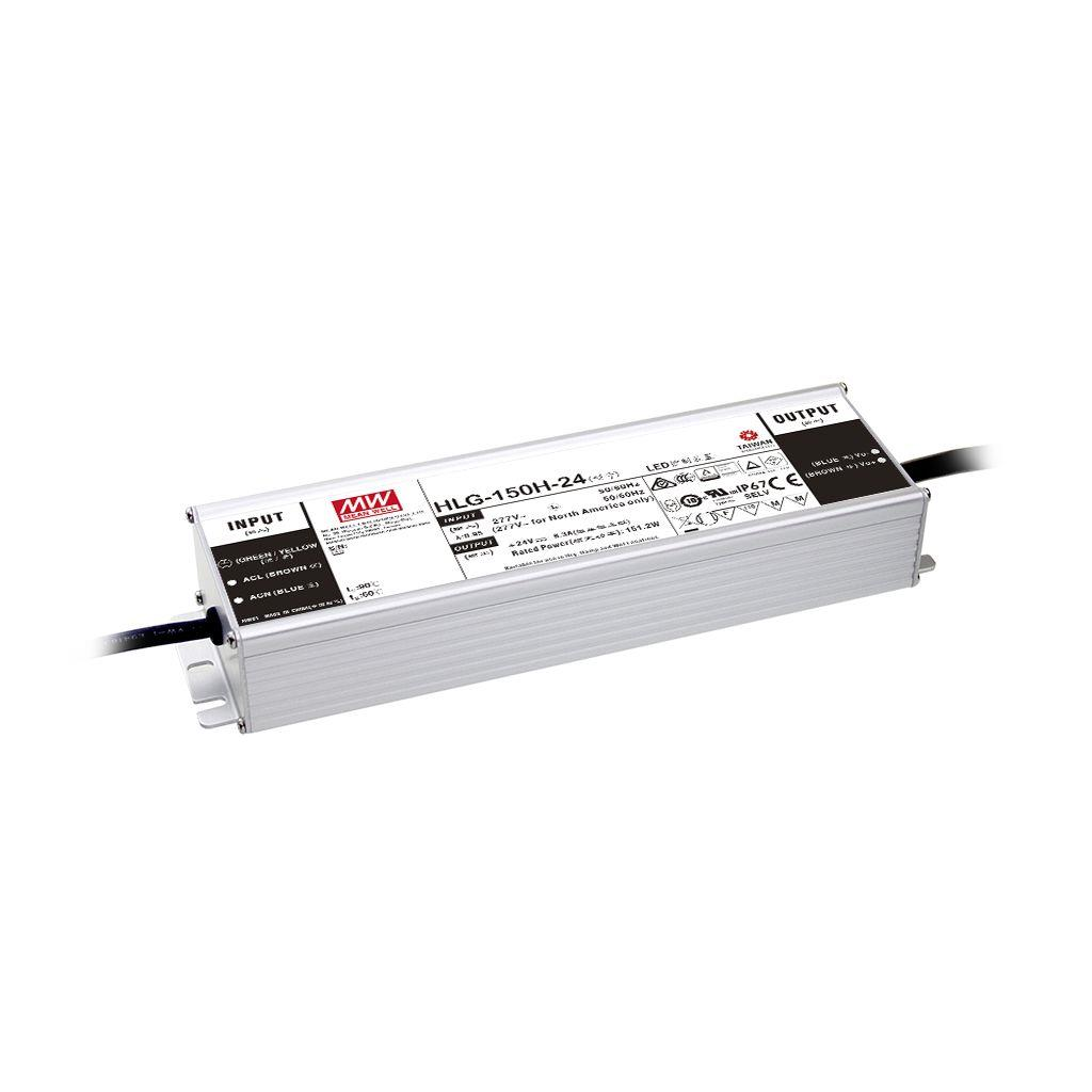 Mean Well HLG-150H-42AB AC/DC Box Type - Enclosed 42V 3.6A Single output LED driver