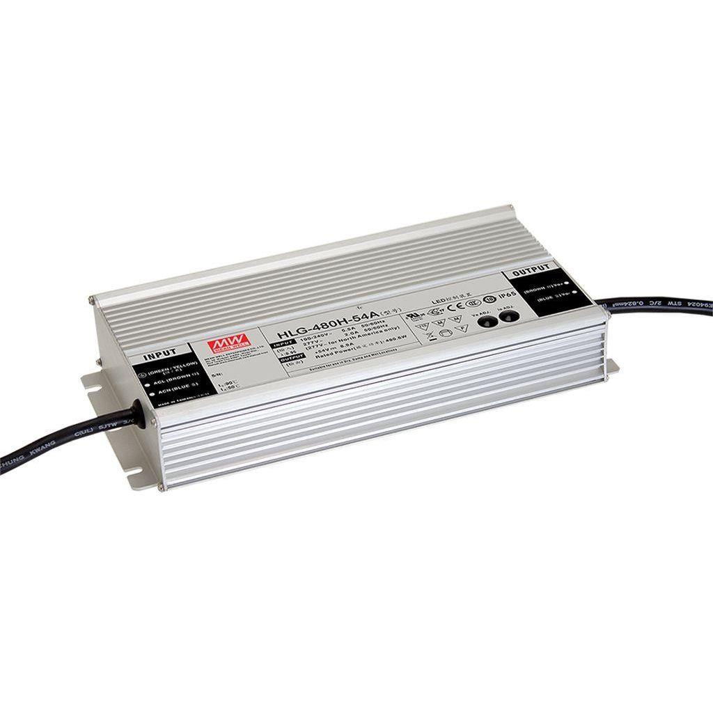 Mean Well AC/DC C.C C.V. Box Type - Enclosed 30V 16A LED Driver