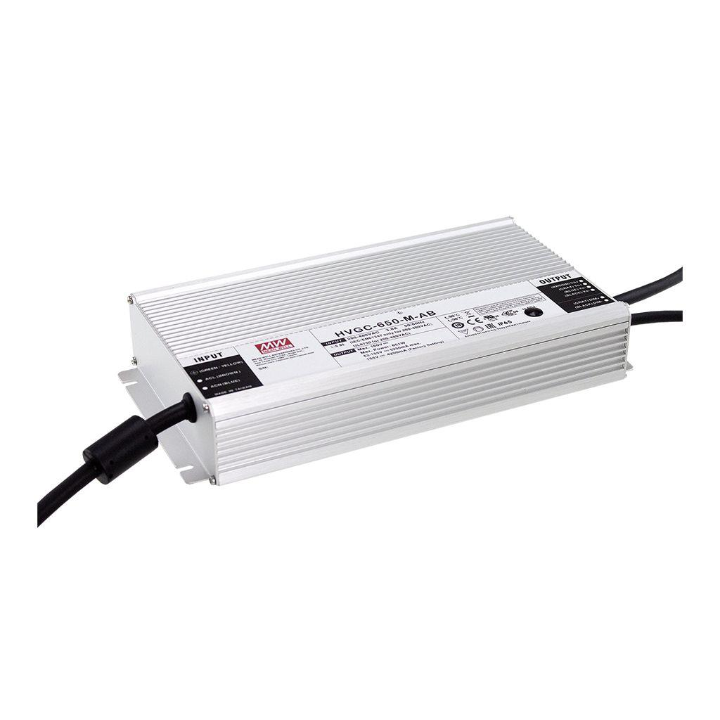Mean Well HVGC-650-H-D2 AC/DC Box Type - Enclosed 116V 7A  LED Driver