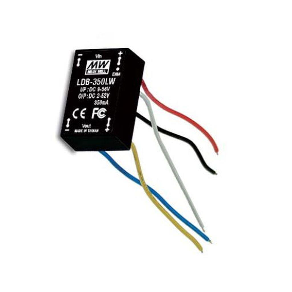 Mean Well LDB-300LW DC/DC C.C. Box Type - Enclosed 40V 0.3A Buck-Boost LED Driver