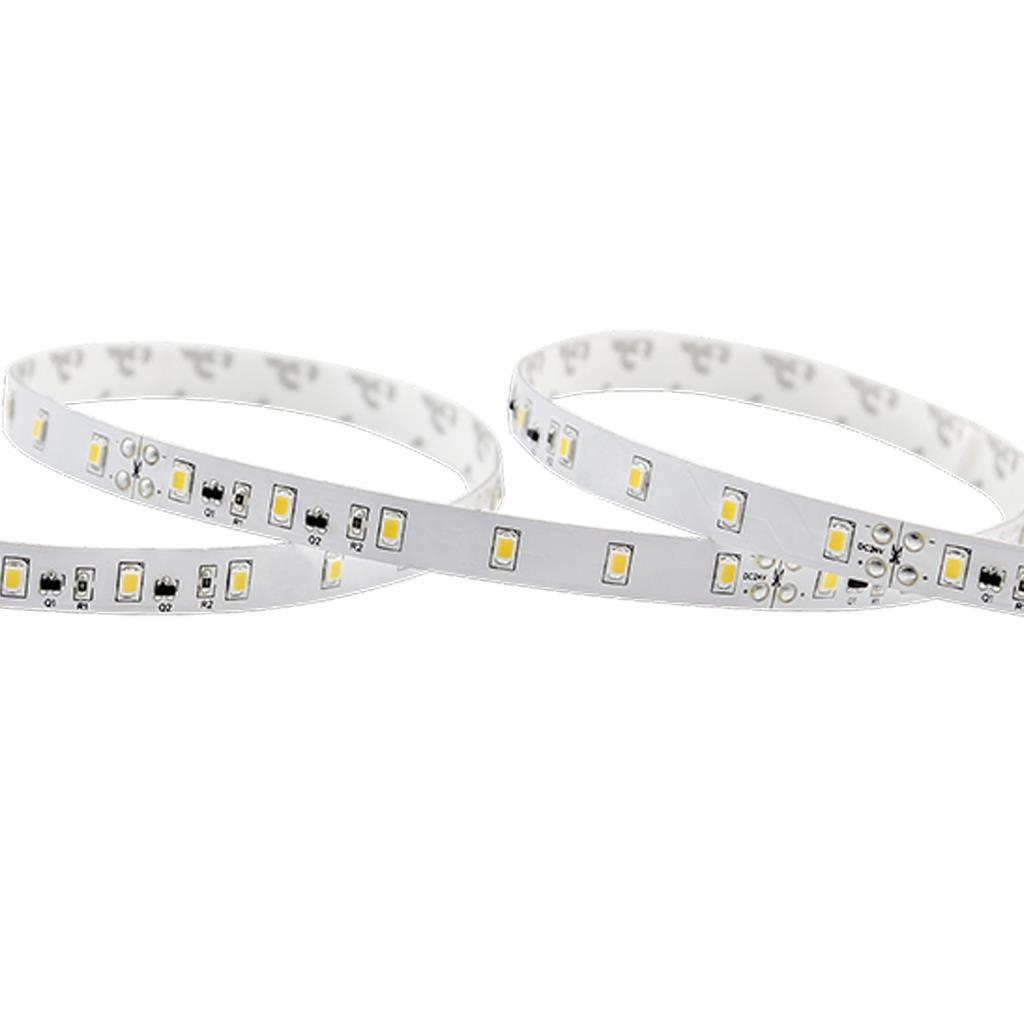 Blueview LN-2835A-60-24-30K-RA80-8W 2835 Long Run LED Strip; Color White; Input 24Vdc; CCT 3000K; CRI 80+ ; 5m per reel; 60 leds per meter; Power per meter 8.4W
