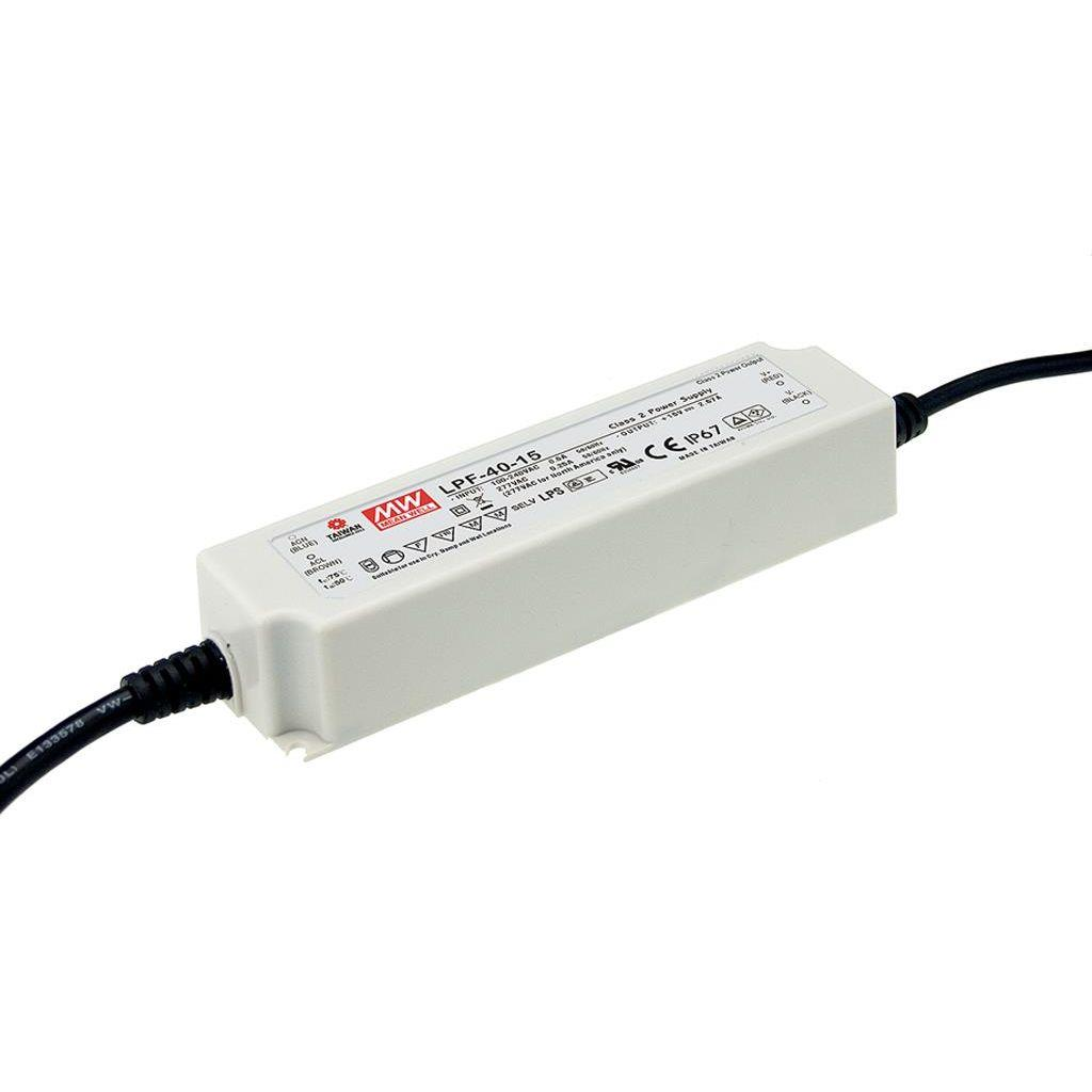 Mean Well LPF-40-36 AC/DC C.V. C.C. Box Type - Enclosed 36V 1.12A Single output LED driver