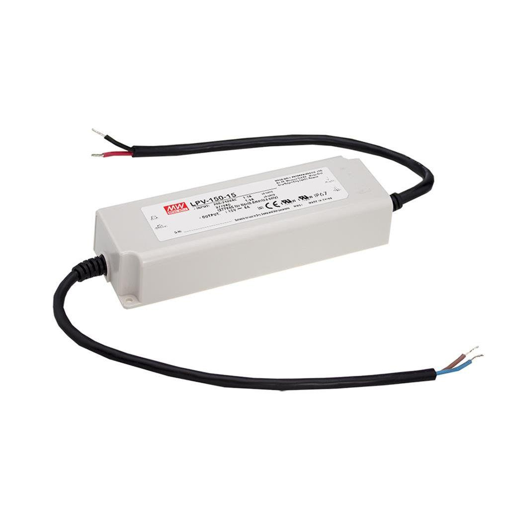 Mean Well LPV-150-15 AC/DC C.V. Box Type - Enclosed 15V 8A Single output LED driver