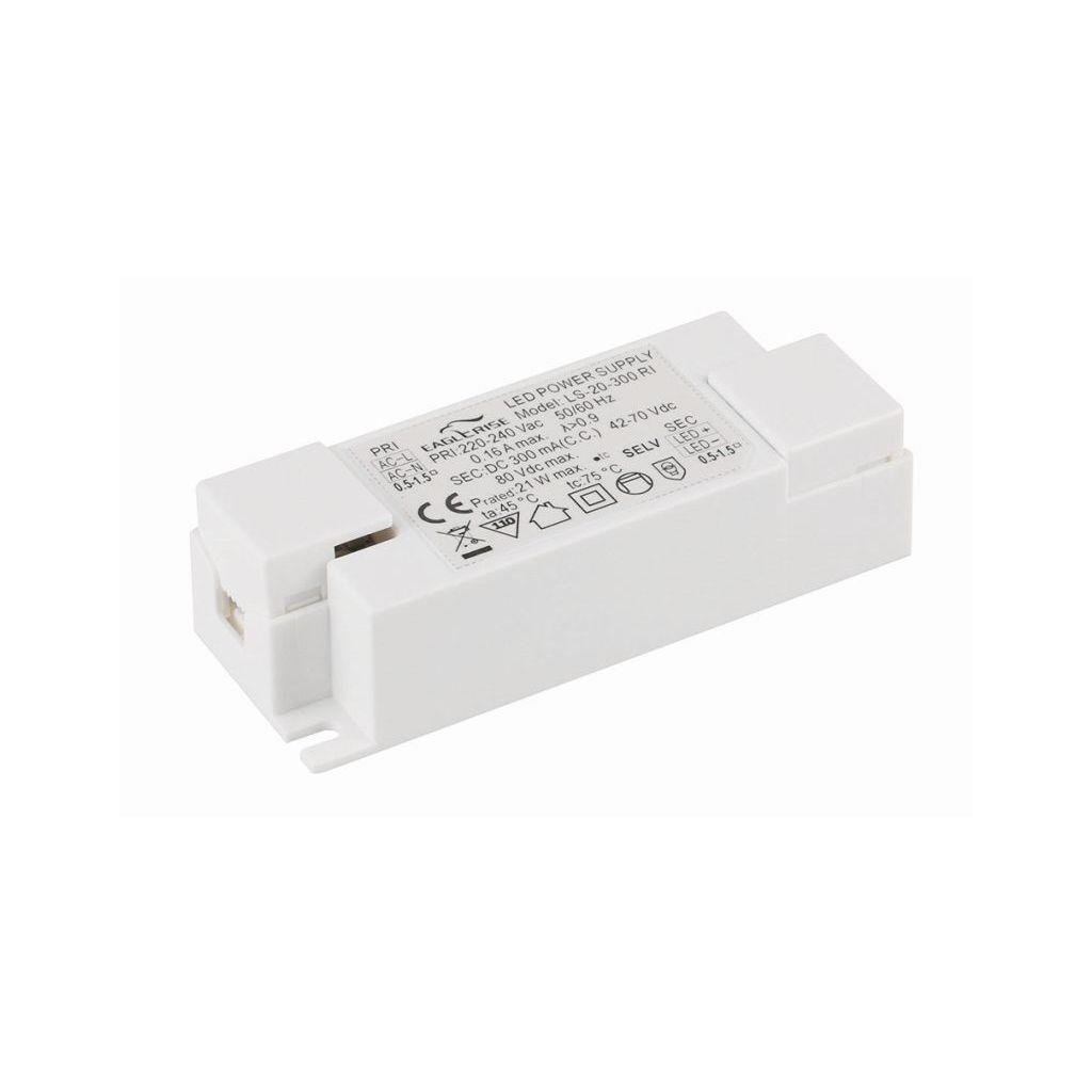 Eaglerise LS-20-350 RI AC/DC Box Type - Enclosed 60 0.35 LED Drivers