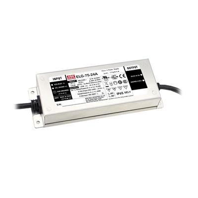 Mean Well ELG-75-36A-3Y AC/DC C.C. Box Type - Enclosed 36V 2.1A LED Driver