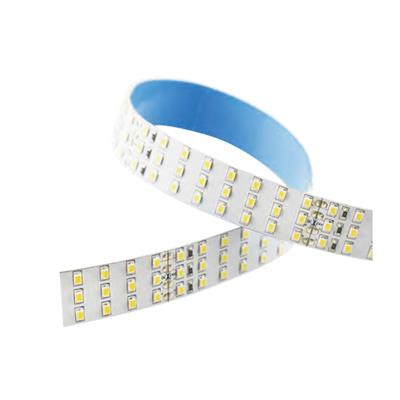 Blueview FN-H2835-288-24-27K-RA95 2835 High Efficacy LED Strip; 8 LEDS cuttable; Color White; Input 24Vdc; CCT 2700K; CRI 95+ ; 5m per reel; 288 leds per meter; Power per meter 25.92W