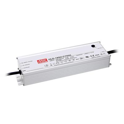 Mean Well HLG-185H-C500A AC/DC C.C.  Box Type - Enclosed 400V 0.5A Single output LED driver