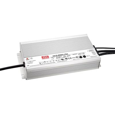 Mean Well HLG-600H-36B AC/DC C.V. C.C.  Box Type - Enclosed 36V 16.7A Single output LED driver