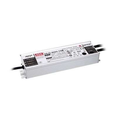 Mean Well HLG-80H-15AB AC/DC Box Type - Enclosed 15V 5A Single output LED driver