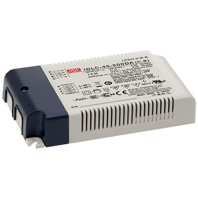 Mean Well IDLC-45-350DA AC/DC C.C. Box Type - Enclosed 95V 0.35A LED Driver